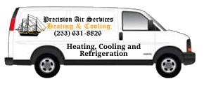 Heating Contractor Van